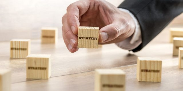 Small Wooden Blocks Saying Strategy