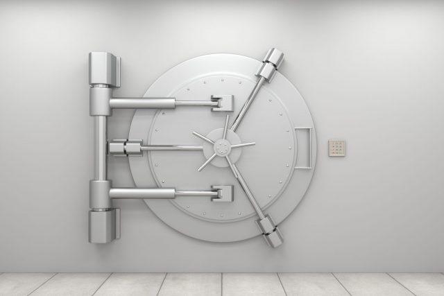 Protection Locked Grey Vault