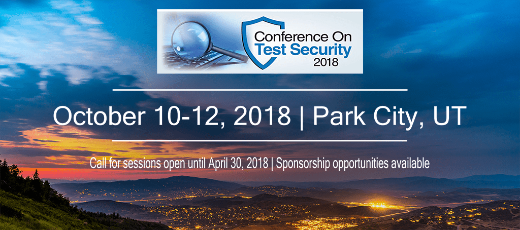 2018 Conference on Test Security