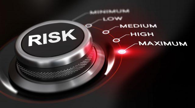 Risk Button Set To Maximum