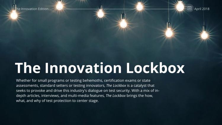 The Innovation Lockbox - April-May 2018
