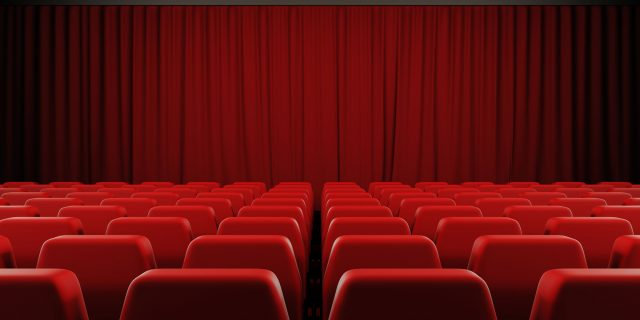 closed red curtain cinema screen - cheating in the movies